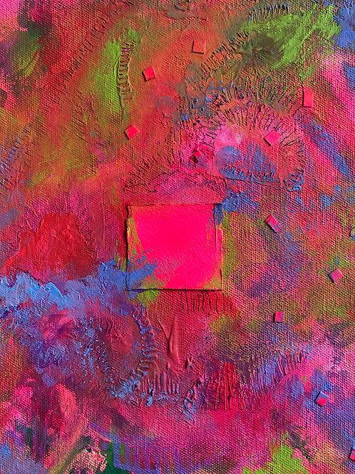 """""""Confetti,"""" Original Painting"""