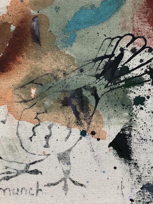 Munch 3 (triptych)