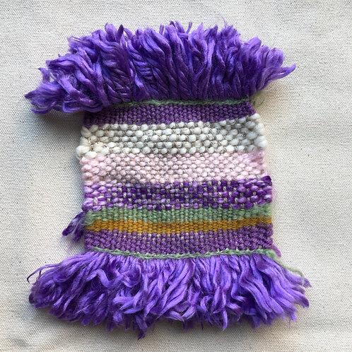 Purples Mug Rug