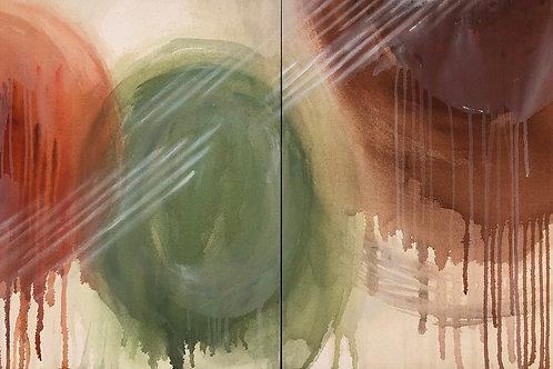 Chartreuse, Mahogany, Vermilion