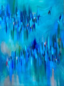 Grace Hoag, Lyric, acrylic and chalk on canvas, 2021, 48 x 36 inches.jpg
