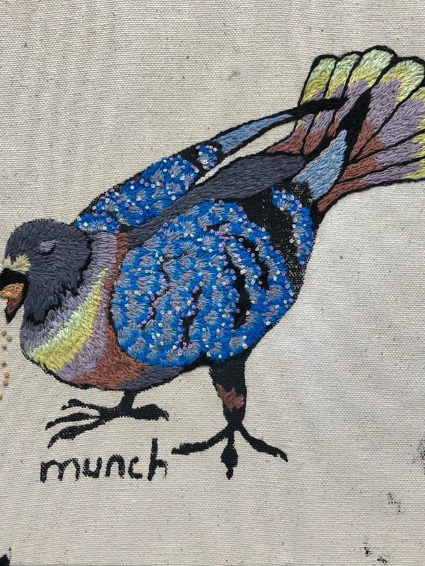 Munch 1 (triptych)