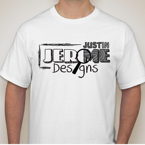 Justin Jerome Designs Brand Mens T-shirt
