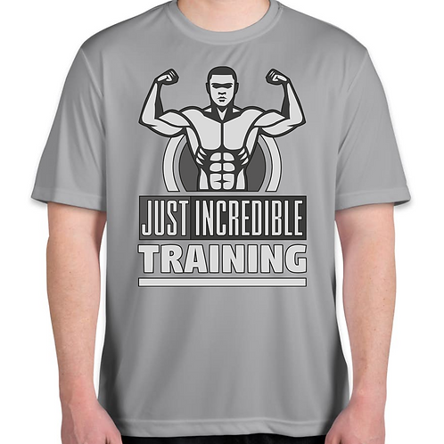 Dri Fit Just Incredible Training T-shirt Silver