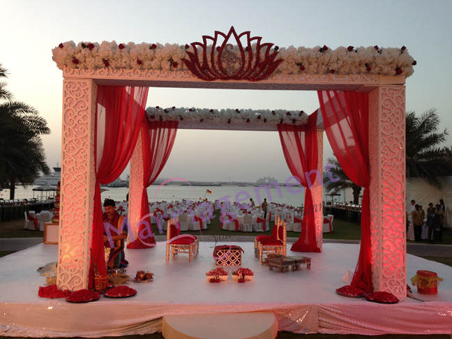 Indian Mandap Wedding Dubai