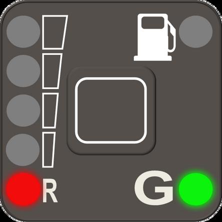 Reserve level of LPG