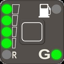 Full LPG tank
