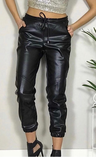 CINDY FAUX LEATHER PANTS