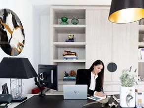 Inside the Home Office of Design Director Dana Moussaoui