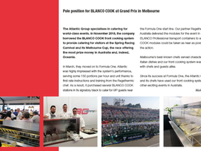 Event catering - pole position for mobile catering equipment by BLANCO Professional