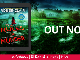 The Rules of Murder by Rob Sinclair