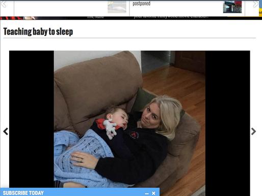 Teaching baby to sleep