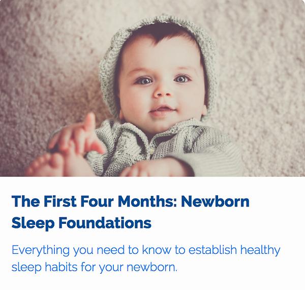 Newborn Sleep Workshop