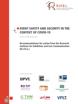 R.I.F.E.L. event safety and security in the context of COVID-19