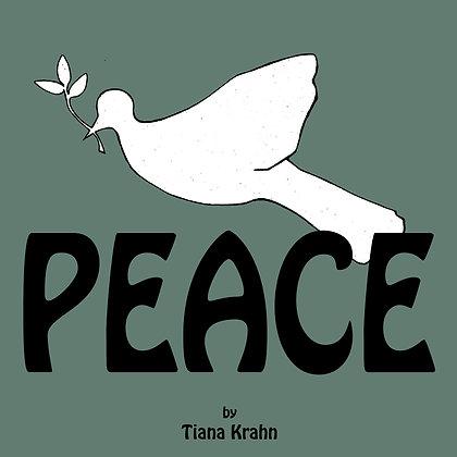Peace book by Tiana Krahn