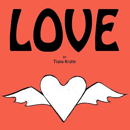 Love book by Tiana Krahn