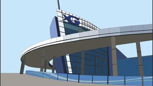 GA Aquarium Illustration