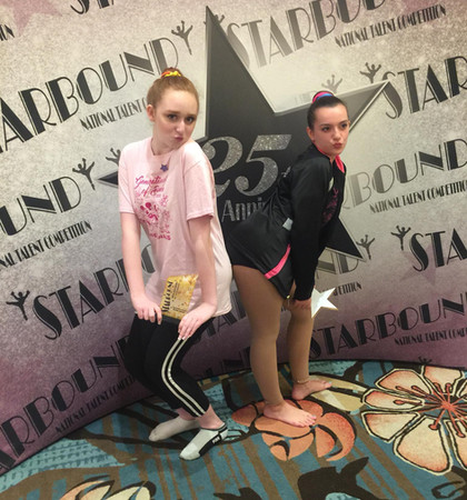 Teen Elite Duet/Trio 1st Place - Jaclyn Sutphen and Taylor Taveira