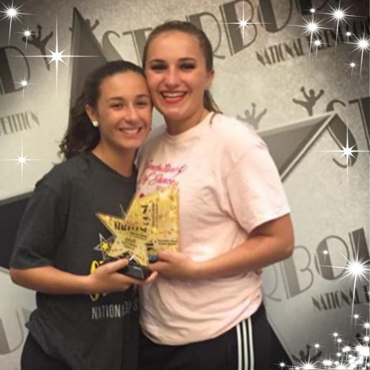 Senior Elite Duet/Trio 1st Place - Carley Sperling and Jacqui Meudt