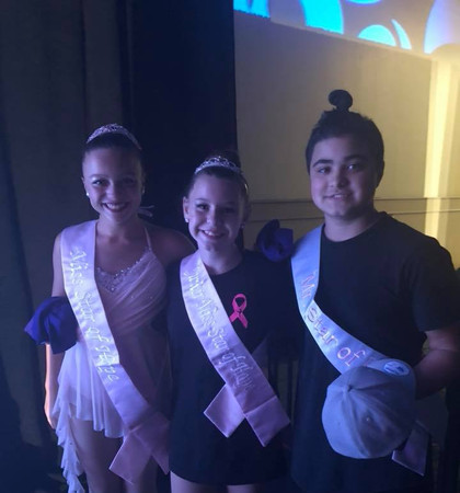 Star of Hope Winners - Sr Miss Aria Moreno, Jr Miss Samantha Johnson & Jr Mr Jordon King