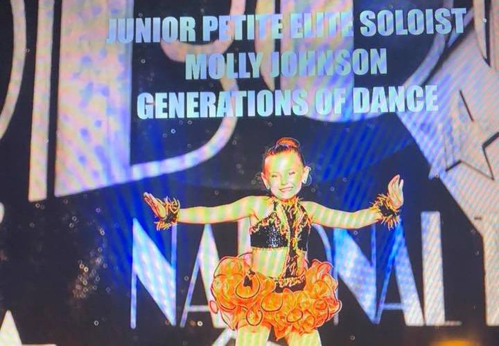 Junior Petite 1st Place Soloist - Molly Johnson