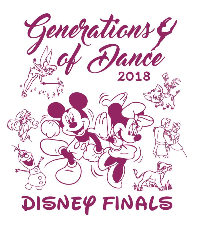 Generations of Dance Does Disney for Nationals