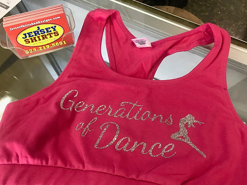 G.O.D Pink Ladies dance top