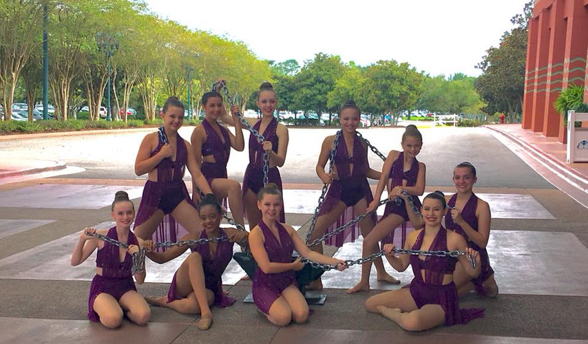 Bottom of the River - Teen Elite Large Group 1st Place