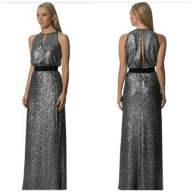 Pewter sequins gown arriving tomorrow