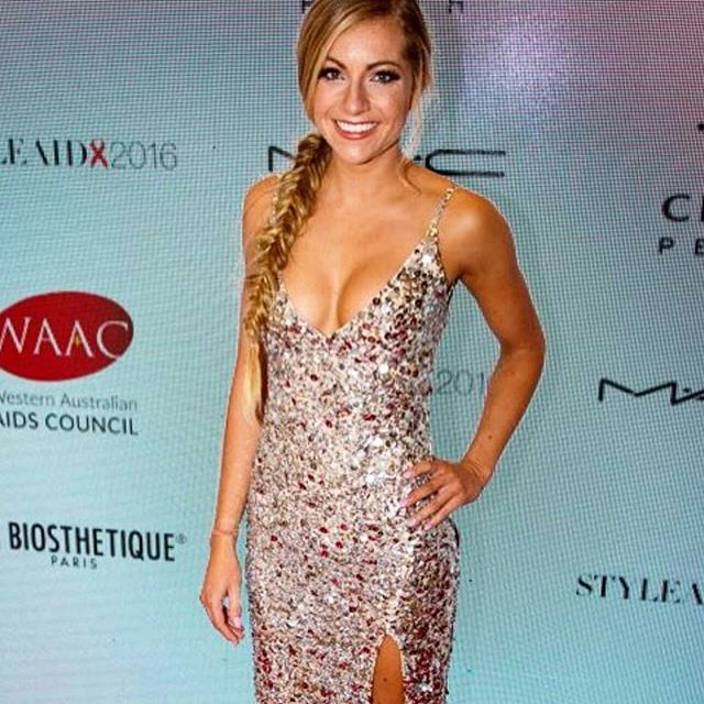 WA The Bachelor  contestant _tiffany_janes  dress by #redrunwaystyling