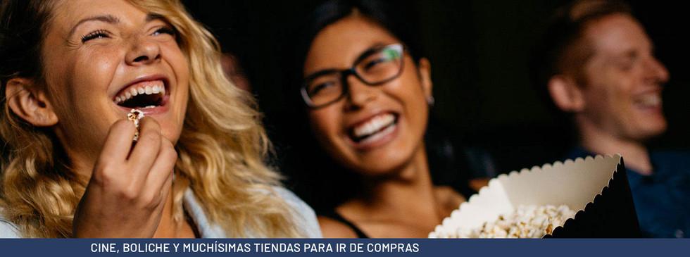 CINE, BOLICHE Y MUCHÍSIMAS TIENDAS PARA IR DE COMPRAS