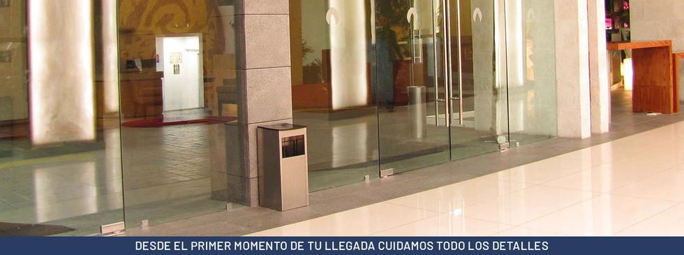 DESDE EL PRIMER MOMENTO DE TU LLEGADA CUIDAMOS TODO LOS DETALLES