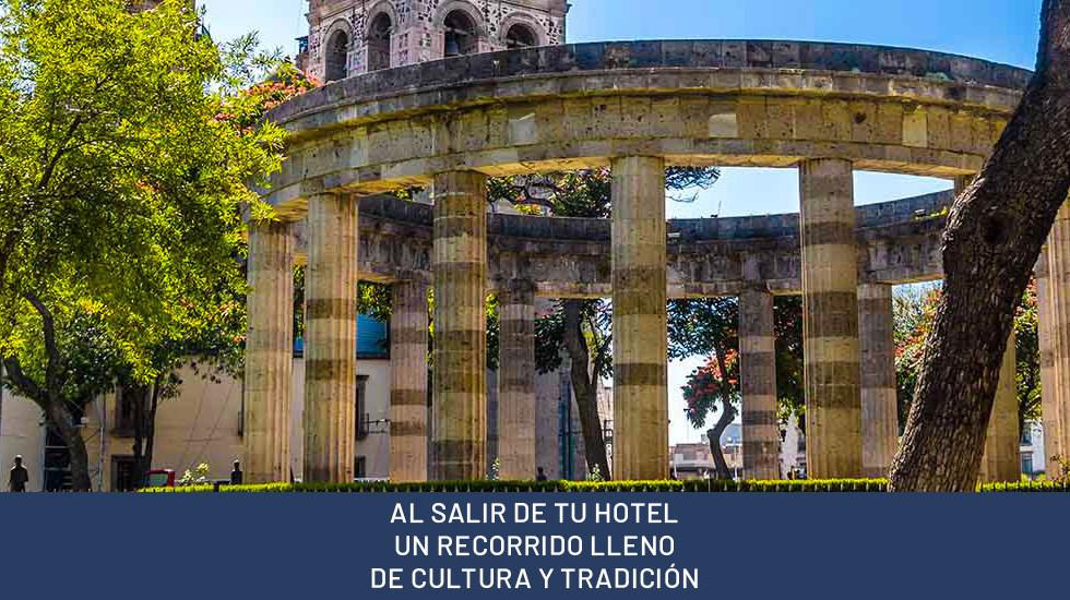AL SALIR DE TU HOTEL UN RECORRIDO LLENO DE CULTURA Y TRADICIÓN