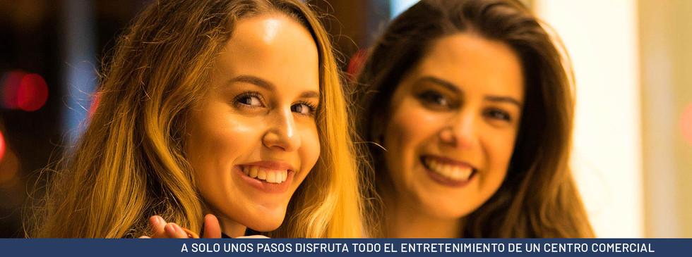 A SOLO UNOS PASOS DISFRUTA TODO EL ENTRETENIMIENTO DE UN CENTRO COMERCIAL