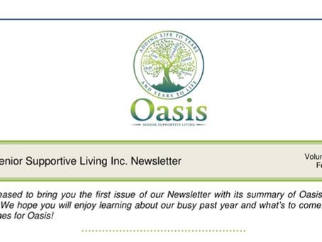 Oasis Newsletter - February 2019