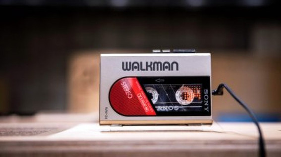 Sony releases a Walkman for its 40th anniversary