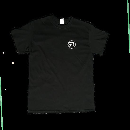 """Black """"T"""" Shirt"""