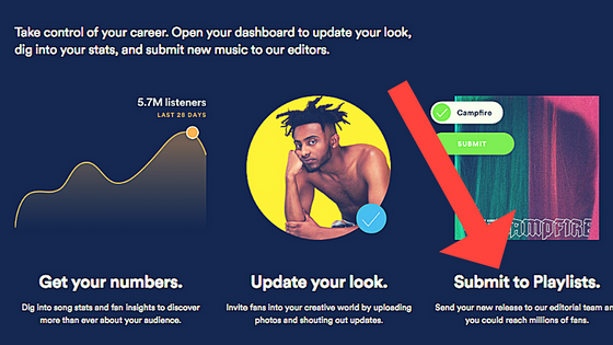 BIG NEWS AT SPOTIFY: There's now a public process for suggesting an unreleased song to Spotify's edi