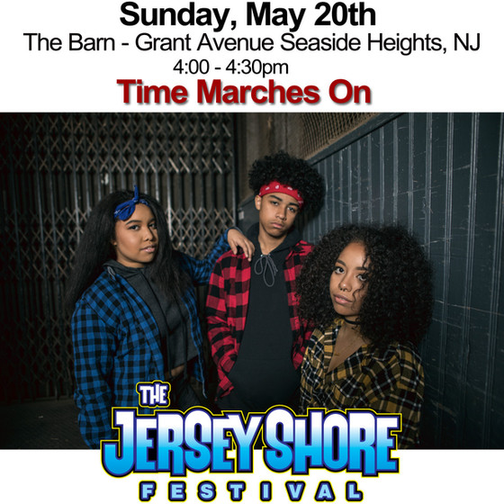 """Time Marches On"" the Jersey Shore Festival"