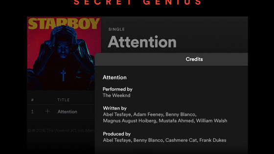 Spotify (Finally) Adds Songwriter and Producer Credits