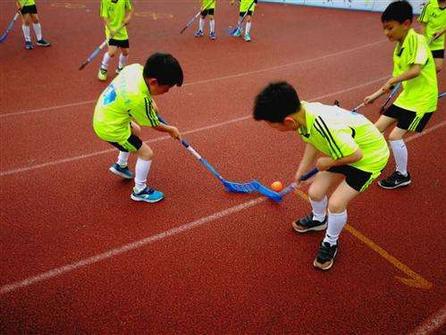 旱地冰球香港學校推廣
