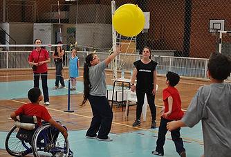 氣球排球新興運動