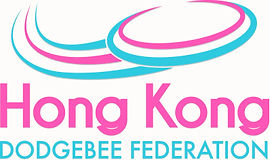 HONG KONG DODGEBEE FEDERATION 香港躲避盤聯會 LOGO