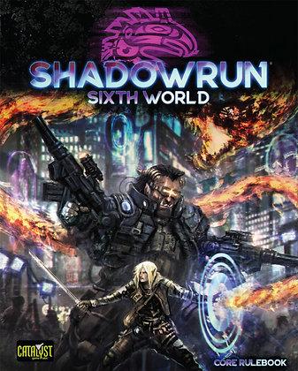 Shadowrun 6th Edition Core Rule Book