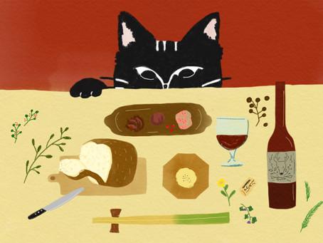 冬の宴 パンとワインと野山のめぐみ