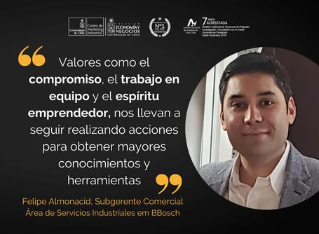 """Felipe Almonacid: """"Entregamos herramientas para poder obtener los resultados que esperamos"""""""