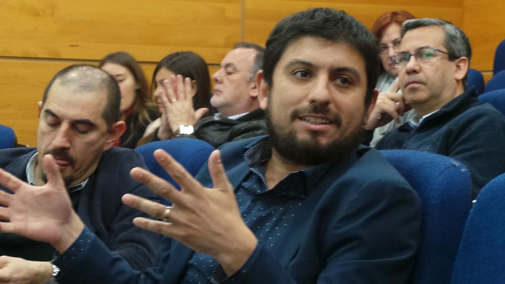 Andrés Vidal, Director del Centro de Marketing Industrial, durente el Seminario de Casos Prácticos