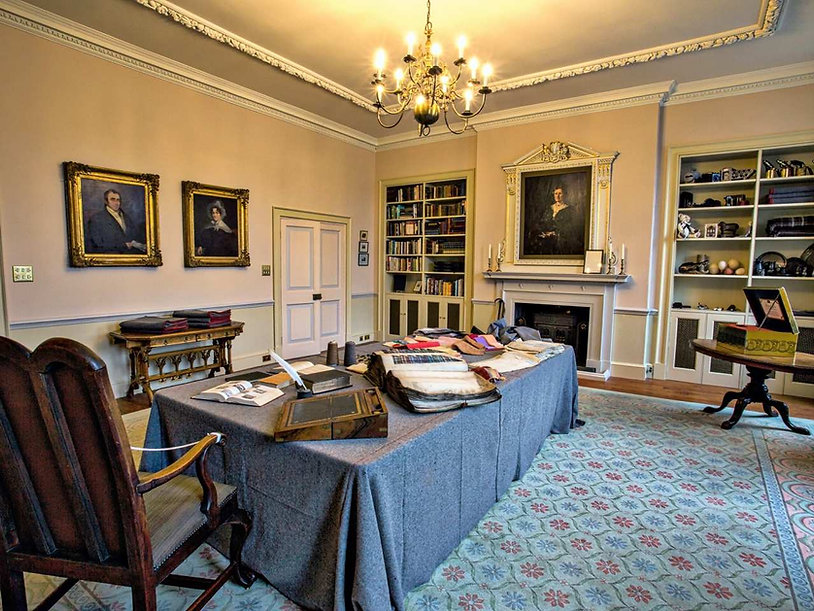 The Great Room splendour at Witney Blanket Hall