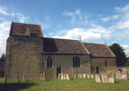 St Peter's Church Broughton Poggs in the Lando of the Twelve Churches in the Shill Valley and Broadshire Benefice