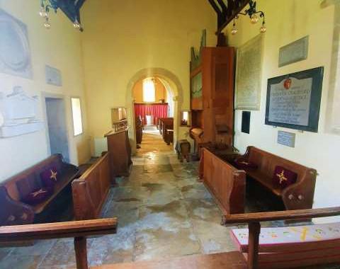 Broughton Poggs Church: RM
